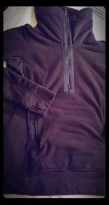 Lululemon Black Fleece Sweatshirt Jacket 6